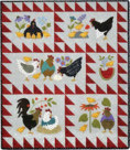 Quilt-Here-a-chick-there-a-chick-van-Bonnie-Sullivan