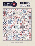 MS1906 Derby House Quilt compleet luxe patroon _