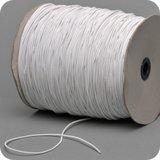 Wit koord elastiek 1.5 mm voor Mondkapjes_