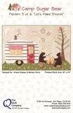 Quiltpakket compleet Camp Sugar Bear_