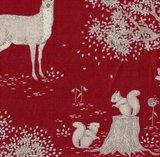 100293 Tilda Woodland Red Forest animals_