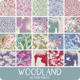 300093 fat eight Bundle Tilda Woodland_