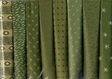 Stofpakket D Love & Hope Sampler Quilt Groen/cremewit_