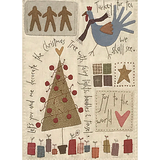 Quiltpakket compleet  The Santa The Tree The Turkey and Me_