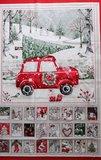 Joyful Tidings Advent Calendar Panel _