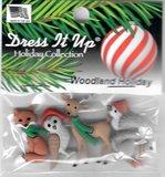 DIU-9500 Woodland Holiday knoopjes _