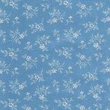 2984-13 Bunny Hill light blue flower_