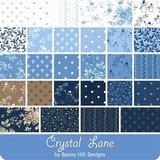 2986-20 Bunny Hill Blue brown ornament_