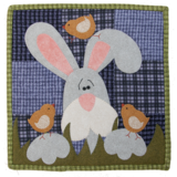 BVM Little Quilts, squared, by the Wooden Bear_