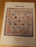 Patroon Daisies Quilt van Betty Prins_