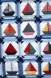 Patroon Zeilbootjesquilt_