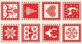 1815-R Scandi 4 SQ Red_