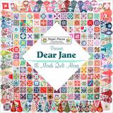 BVM Dear Jane met Paperpieces_