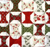 Mini Quilt Christmas Spools_