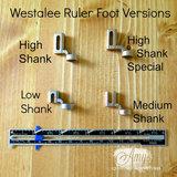 WL-LS Ruler Foot (voet) Starter set LOW shank _21