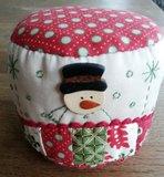 Speldenkussen pakket Snowman_