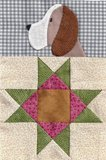 8Fat8 Pack 2 Scrappy Dogs Block Quilt_