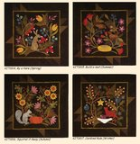 KIT1816 Squirrel it away (Autumn/ herfst Quiltpakket) van Bonnie Sullivan _