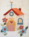 Totaal Quiltpakket Olivia's tuin quilt met boek _