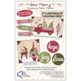 Totaal Quiltpakket Sew Merry Rood_