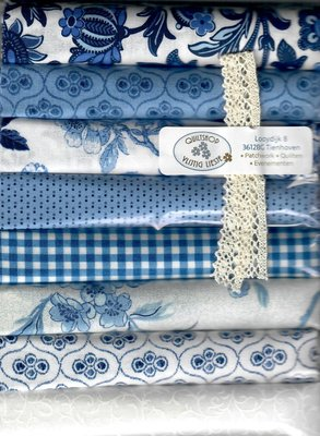 8xFat8 Pack Delft Blue White