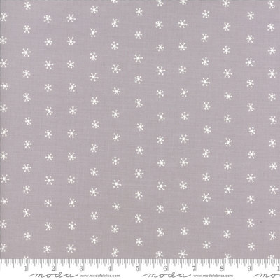 48275-14 Merriment grey snowflakes