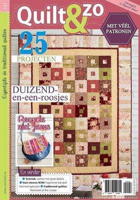 Quilt en Zo magazine #41
