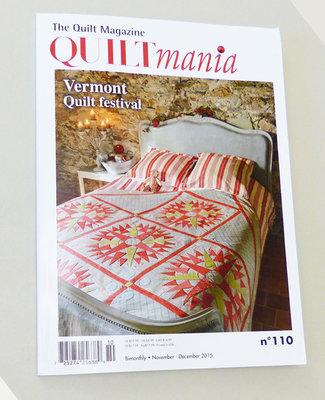 Quiltmania nr. 110 nov/dec 2015