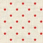 1615-R4 Scandi B mini star Red