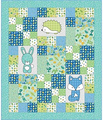 Quiltpakket Babe in the Woods BLUE