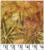 Java Batiks NDF6 0117 Geel groen bladeren