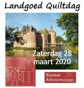 LG Quiltdag Kasteel Ammersoyen zaterdag 28 maart 2020