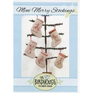 D223, Mini Merry Christmas Stockings