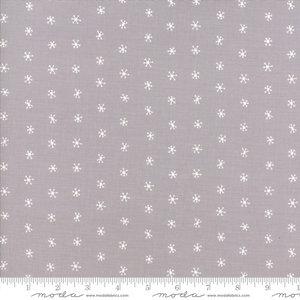 48275-14 Merriment grey snowflakes