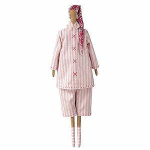 Tilda Old Rose Pyjamas Santa