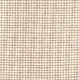 2750-162 Nordso ruitje taupe bruin ecru 166 cm breed