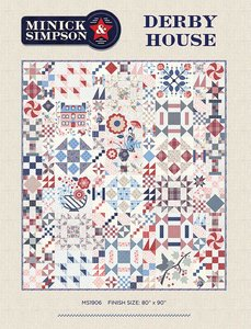MS1906 Derby House Quilt compleet luxe patroon