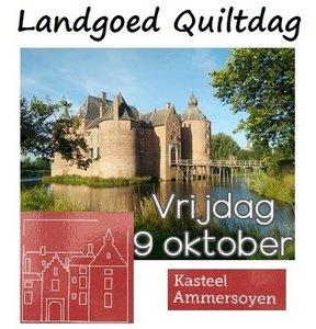 LG Quiltdag Kasteel Ammersoyen Vrijdag 9 oktober 2020