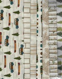 Sample Pack Ecru / canadian forest / bomen auto kano