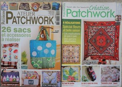 Vakantie pakket 9 twee Quilttijdschriften
