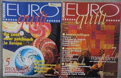 Vakantie pakket 10 twee Quilttijdschriften