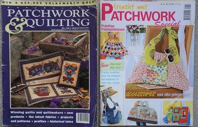 Vakantie pakket 13 twee Quilttijdschriften