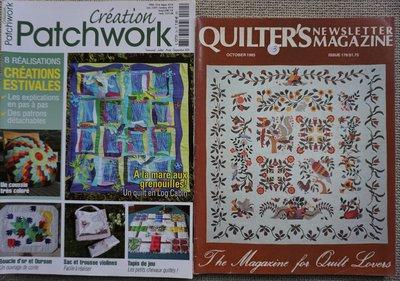 Vakantie pakket 16 twee Quilttijdschriften