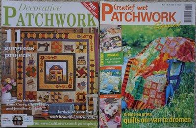 Vakantie pakket 17 twee Quilttijdschriften