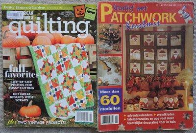 Vakantie pakket 18 twee Quilttijdschriften