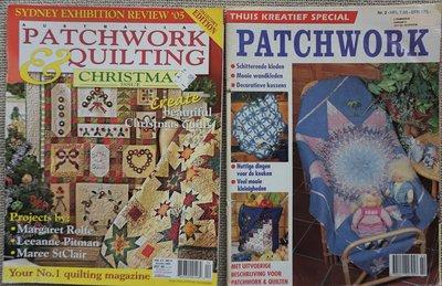 Vakantie pakket 21 twee Quilttijdschriften