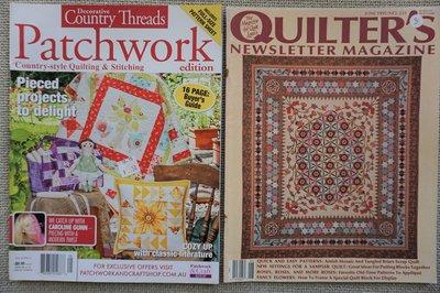 Vakantie pakket 22 twee Quilttijdschriften
