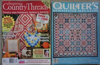 Vakantie pakket 25 twee Quilttijdschriften