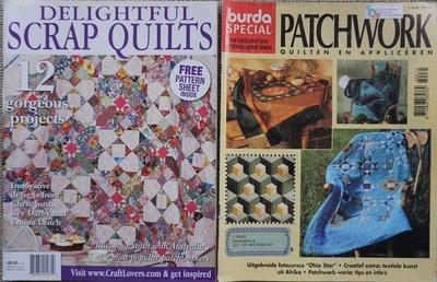 Vakantie pakket 27 twee Quilttijdschriften