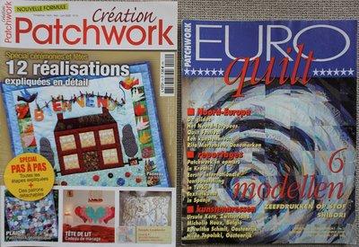 Vakantie pakket 29 twee Quilttijdschriften